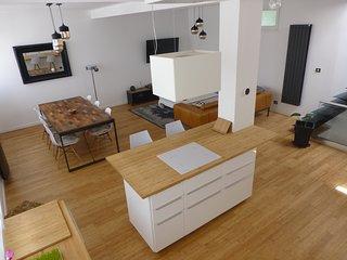 Loft T5 avec jacuzzi et 2 terrasse