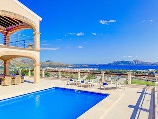 4 bedroom Villa in Cala San Vicente, Balearic Islands, Spain : ref 5629494
