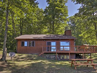 NEW! Hayward Cabin with Lake Views on 1.7 Acres!