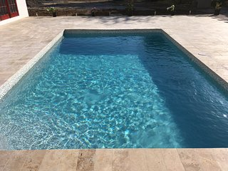 Hideaway Villa. Luxury 3 bed villa with Private Pool. Opposite the Beach.