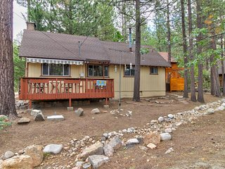 NEW LISTING! Cozy, vintage lake home w/amazing outdoor decks, hot tub, fire pit.