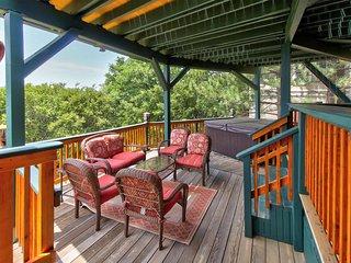 NEW LISTING! Dog-friendly luxury cabin w/ private hot tub & beautiful lake views