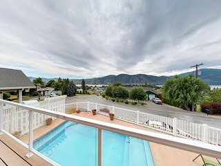 NEW LISTING! Spacious home w/private pool, lake views, close to downtown Manson!