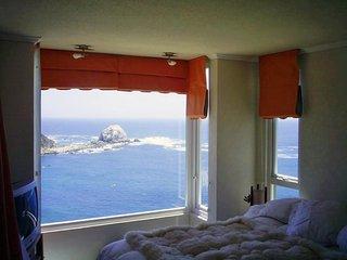 Departamento con Hermosa Vista a Playa el Canelo y El Canelillo