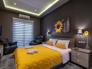 Black n Yellow deluxe apartment