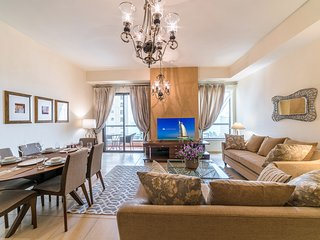 Sweeping 1BR with Sea view in JBR