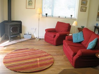 Luxurious and spacious holiday cottage, ideal for a couple, in open countryside