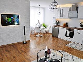 Trendy and cozy apartment in Pazardzhik-new build, holiday rental in Batak