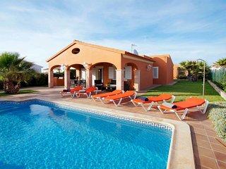 3 bedroom Villa in Cap d'Artrutx, Balearic Islands, Spain : ref 5646436
