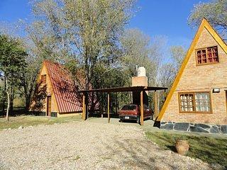 Cabanas Valle Dorado en Villa Rumipal, un lugar perfecto - La Cabana Azul
