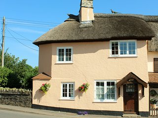 Crown Cottage Exford located in the centre of Exmoor National Park.