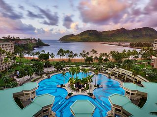 Marriott's Kaua'i Beach Club, Luxury Parlor sleeps 2