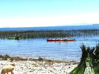 kayaking more lodging in Luquina