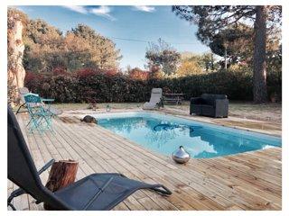 Maison a Cala-Rossa, WIFI, piscine, proche des plages et des commodites.