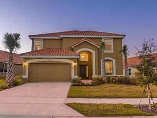 5* House 5* Reviews 5* Service Stunning 6 bed Villa Gated Resort Nr Disney