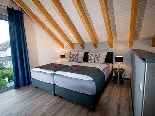 4 Bettem im Dachloft laden zum Träumen ein....