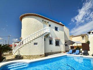 6 bedroom Villa in Mirarrosa, Valencia, Spain : ref 5586038