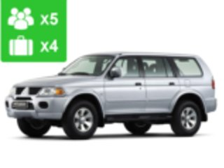 SUV 4x4, available for the off road condittions
