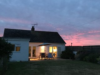 Lovely cottage just metres from the beach