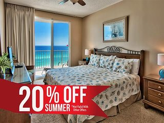 20% OFF Summer! GULF VIEW DLX Condo*Seascape Resort Pool/Spa +FREE VIP Perks!