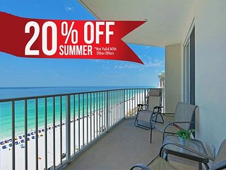 20%OFF Summer! Newly Renovated GULF VIEW DLX Condo*Resort Pool/Spa+FREE Perks