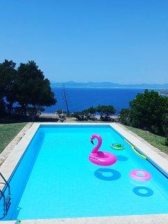 Villa Andrea, piscina, aire acondicionado y Wifi