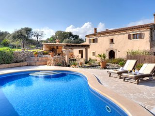 4 bedroom Villa in Cas Concos, Balearic Islands, Spain : ref 5512026