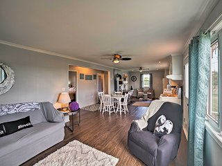 The cozy interior features 2 bedrooms and 1 bathroom.