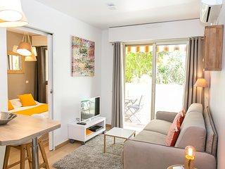Cannes Le Vendome, centre-ville, Charmant 2p avec terrasse au calme