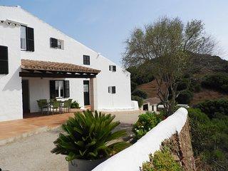 Casa típica menorquina con piscina privada, WiFi gratis
