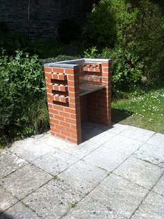 Our Brick Barbecue is situated Next to the pool perfect for outdoor barbecue parties