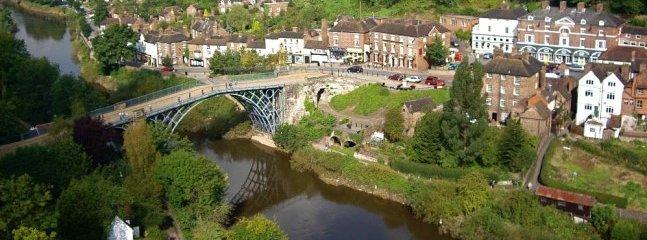 Ironbridge from a birds eye view