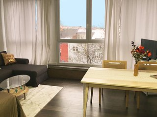 Large studio Brussels city center - Pet friendly