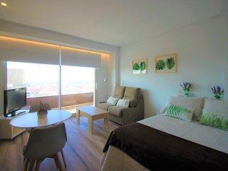Estudio con Vistas que enamoran en Centro de Alicante.