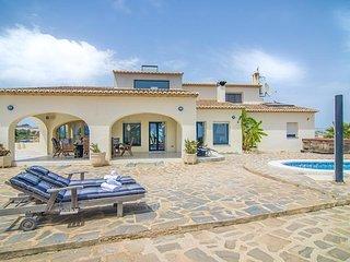 Villa Isla en Benissa,Alicante para 10 huespedes