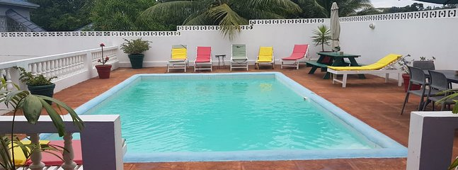 The Pool is Private and Secluded