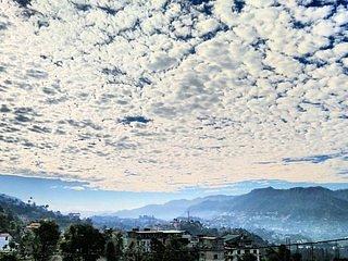 Vista de la ciudad de Solan