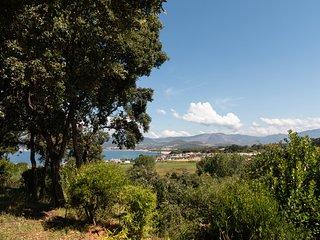 Porticcio : maison 80 m², vue mer, plage à pied