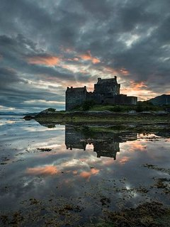 Spectacular Eilean Donan Castle is just 10 miles from Plockton.