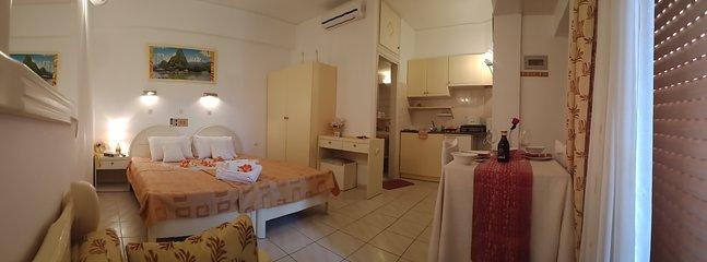 Appartement standard pour 2-3 personnes 30 m2 avec balcon privé et de belles vues