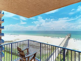 NEW LISTING! Spacious condo w/ views, shared pool, beach access, & private pier