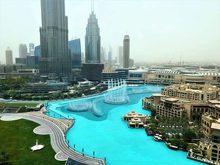 Ultimate Stay 4BR with full Burj Khalifa & fountain view