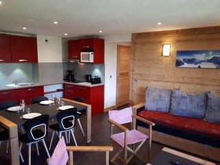 Appartement agréable dans une station familiale au pied des pistes