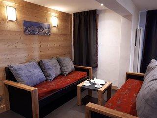 Appartement 4 pieces renove dans une station familiale au pied des pistes