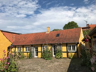 Idyllic holliday house by the sea in Svaneke on the Danish island of Bornholm
