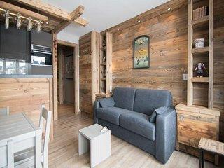 Studio Luxe, ski au pieds.