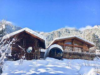 Marmotte Mountain Eco Lodge - winter in Chamonix