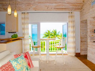 Orange Hill Beach Front Cottage with Amazing view over the Caribbean Ocean
