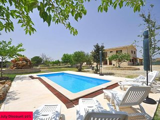 Majestic country house with private pool in Montuiri. Mallorca. Satellite TV -93