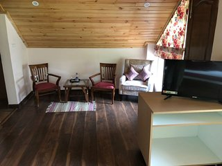 Sitting Area inside attic room